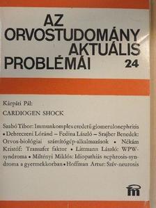 Debreczeni Loránd - Az orvostudomány aktuális problémái 24. [antikvár]