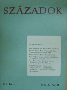 Bellér Béla - Századok 1983/6. [antikvár]