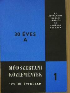 Balogh József - Módszertani közlemények 1990. január-december [antikvár]