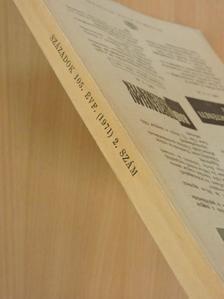 A. P. Pronstejn - Századok 1971/2. [antikvár]