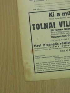 Orbók Attila - Tolnai Világlapja 1936. október 7. [antikvár]