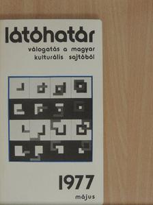 Bónis Ferenc - Látóhatár 1977. május [antikvár]