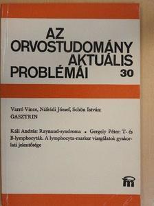 Gergely Péter - Az orvostudomány aktuális problémái 30. [antikvár]