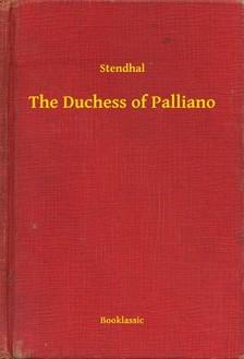 Stendhal - The Duchess of Palliano [eKönyv: epub, mobi]