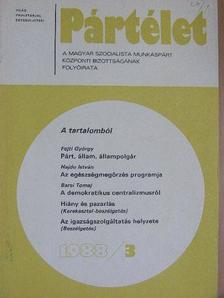 Barsi Tomaj - Pártélet 1988. március [antikvár]