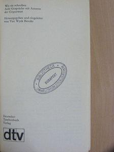 Boris Pasternak - Wie sie schreiben [antikvár]