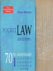Tony Wales - Pocket Law [antikvár]