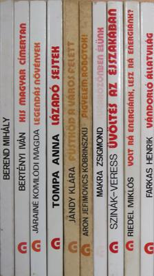 """Aron Jefimovics Kobrinszkij - """"10 kötet a Gondolat Zsebkönyvek sorozatból (nem teljes sorozat)"""" [antikvár]"""