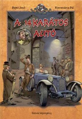 REJTŐ JENŐ - A 14 karátos autó - Színes képregény