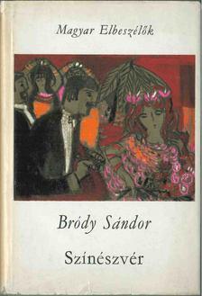 Bródy Sándor - Színészvér [antikvár]