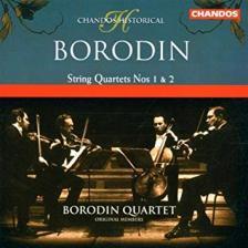 BORODIN - STRING QUARTETS NOS.1 & 2 CD BORODIN QUARTET