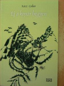 Rácz Gábor - Éj a kopár hegyen [antikvár]