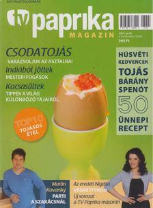 ZSIGMOND GÁBOR - TV paprika magazin 2007. április [antikvár]