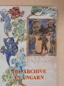 Á. Varga László - Die Archive in Ungarn [antikvár]