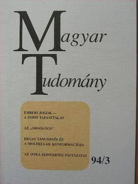 A. Anzerbacher - Magyar Tudomány 1994. március [antikvár]