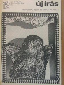 Ágh István - Új Írás 1980. (nem teljes évfolyam) [antikvár]