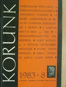 Bajor Andor - Korunk 1983. augusztus [antikvár]