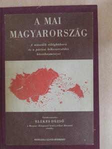 Barócsy András - A mai Magyarország [antikvár]