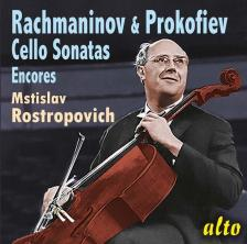RACHMANINOV, PROKOFIEV - CELLO SONATAS - ENCORES CD MSTISLAV ROSTROPOVICH