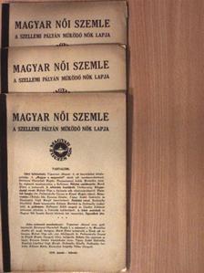 Arató Amália - Magyar Női Szemle 1939. január-június [antikvár]