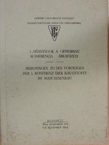 """Fontányi Gábor - I. """"Műanyagok a gépiparban"""" konferencia ábrafüzete [antikvár]"""