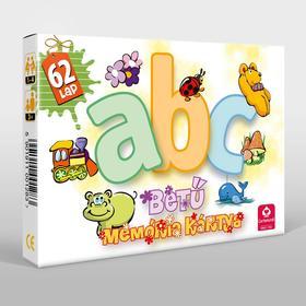 CartaCo kft - ABC betű memória kártya ÚJ Design