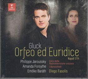 GLUCK, - ORFEO ED EURIDICE VERSION OF 1774 DELUXE CD JAROUSSKY, FORSYTHE, BARÁTH