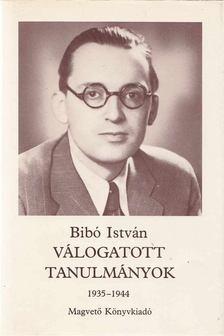 Bibó István - Válogatott tanulmányok I. kötet [antikvár]