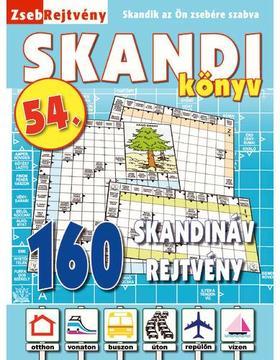 CsoSch Kft. - ZsebRejtvény SKANDI Könyv 54.