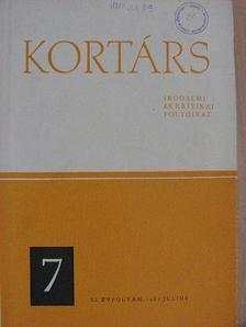 Baranyi Ferenc - Kortárs 1967. július [antikvár]