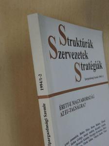 Artner Annamária - Struktúrák, Szervezetek, Stratégiák 1994/1-2. [antikvár]