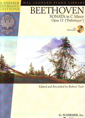 "BEETHOVEN - SONATA IN C MINOR OP.13 (""PATHÉTIQUE"") FOR PIANO CD INCLUDED, EDITED AND RECORDED BY ROBERT TAUB"