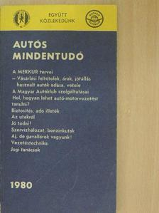 Búza Péter - Autós mindentudó 1980 [antikvár]