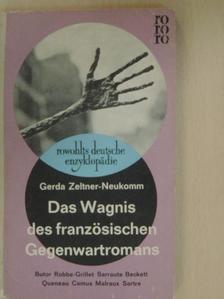 Albert Camus - Das Wagnis des französischen Gegenwartromans [antikvár]