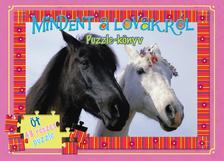 Mindent a lovakról - puzzle-könyv