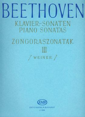 BEETHOVEN - ZONGORASZONÁTÁK III (WEINER)