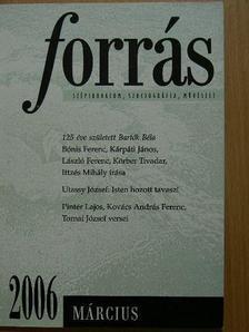 Tornai József - Forrás 2006. március [antikvár]