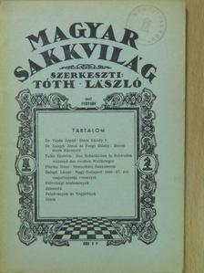 Balogh János - Magyar Sakkvilág 1947. február [antikvár]