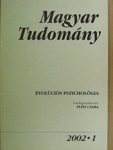Adler Judit - Magyar Tudomány 2002. (nem teljes évfolyam) [antikvár]