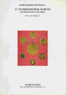 17. Numizmatikai aukció jótékonysági célokra [antikvár]