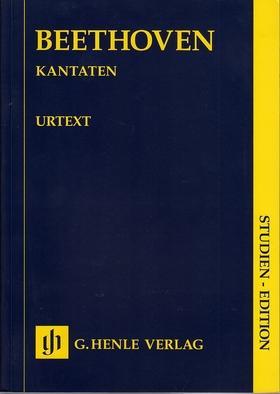 BEETHOVEN - KANTATEN. STUDIEN EDITION