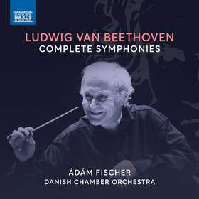 BEETHOVEN - COMPLETES SYMPHONIES 5CD FISCHER ÁDÁM