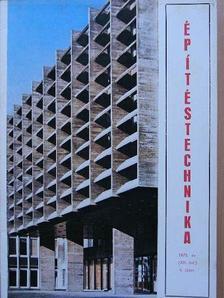 Bakcsy Róbert - Építéstechnika 1973/4. [antikvár]