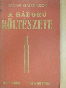 Amade László - A háború költészete [antikvár]