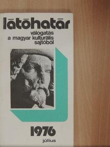 Baka István - Látóhatár 1976. július [antikvár]