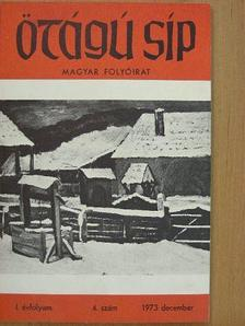 Bakucz József - Ötágú Síp 1973. december [antikvár]
