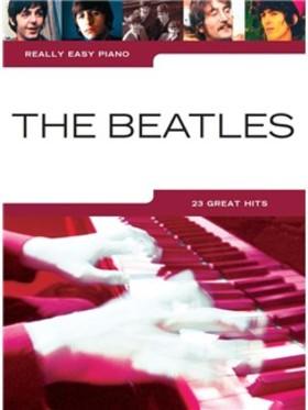 THE BEATLES. 23 GREAT HITS, REALLY EASY PIANO