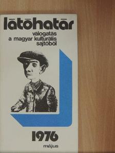 Aczél György - Látóhatár 1976. május [antikvár]