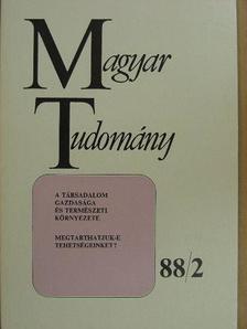 Alföldi László - Magyar Tudomány 1988. február-december (nem teljes évfolyam) [antikvár]