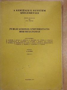 Ángyán Ferenc - A Kertészeti Egyetem Közleményei 1973/5. [antikvár]